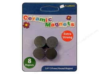 "ProMag Magnet Ceramic 3/4"" 8pc"