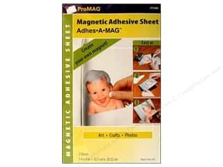 "2013 Crafties - Best Adhesive: ProMag Magnet Sheet w/Adhesive 5""x 8"" 2pc"