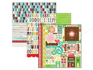Scrapbooking Sale: Echo Park Stickers, SALE $5.85-$35.85.
