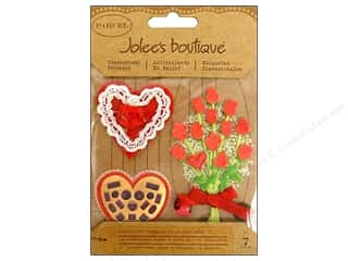 Jolee&#39;s Boutique Stickers Parcel Valentine Bouquet Candy