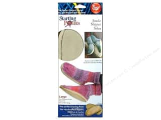 Boye Slipper Soles Suede Large 2pc
