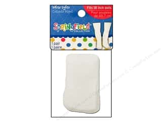 "Dolls and Doll Making Supplies Doll Making: Fibre-Craft Doll Clothes Springfield 18"" Doll Tights White"