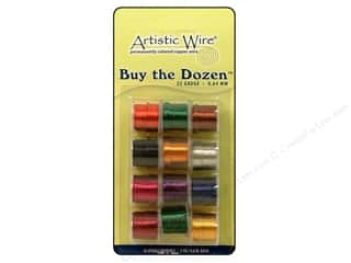 Artistic Wire Clearance Books: Artistic Wire 22 ga. Copper Wire 5 yd. Assorted Colors Dozen