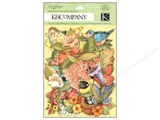 K&amp;Co Die Cut Cardstock SW Spring Blossom Icons