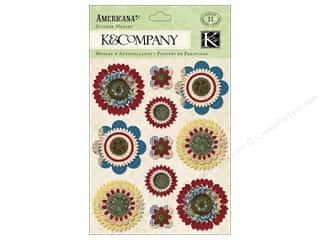 K&amp;Co Sticker Americana Medly