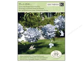K&amp;Co Kits Garland Paper Crafting BW Flora &amp; Fauna
