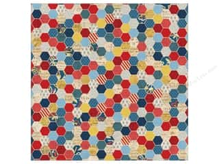 K&amp;Co Paper 12x12 Americana Honeycomb (25 sheets)