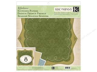 K & Company Papers: K&Company Paper Packs Julianne Stitched