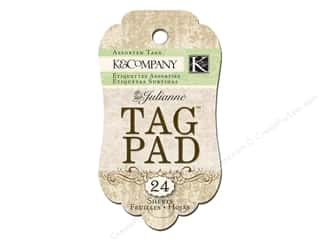 K&Co Tag Pad Julianne Brown & Cream