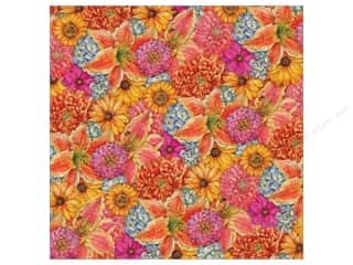 K&Co Paper 12x12 TC Cottage Garden Mixed Floral (12 sheets)