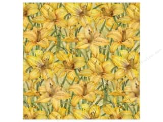 K&Co Paper 12x12 TC Cottage Garden Day Lily (25 sheets)