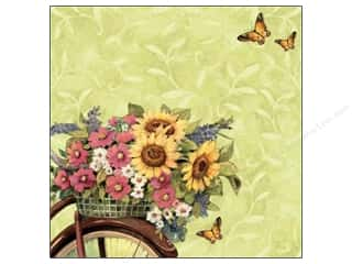 Clearance Blumenthal Favorite Findings: K&Co Paper 12x12 SW Spring Blossom Special Flower (12 sheets)
