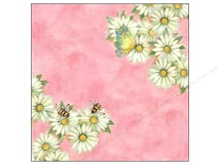 Busy Bee Designs: K&Company Paper 12x12 Susan Winget Spring Blossom Specialty Daisy (12 sheets)