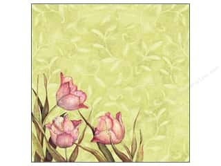 K&amp;Co Paper 12x12 SW Spring Blossom Tulips (25 sheets)