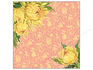 Clearance Blumenthal Favorite Findings: K&Co Paper 12x12 SW Spring Blossom Mums (25 sheets)