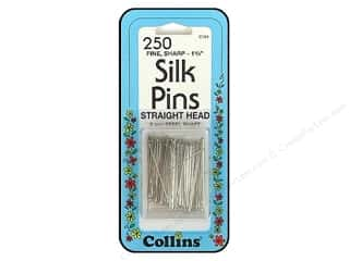 "Collins Pins Silk 1.25"" 250 pc"