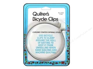 quilting notions: Collins Quilter's Clips Bicycle 2pc