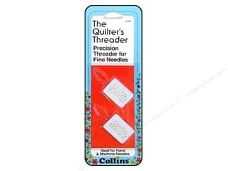 Schmetz Needles, Pullers, Cases & Threaders: Quilter's Threader by Collins 2 pc.