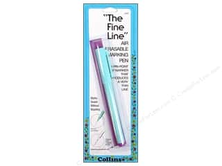 Fine Line Air Erasable Pen by Collins Purple