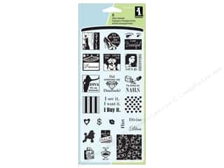 Inkadinkado Clear Stamp Inchies Diva