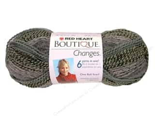 Clearance TLC Essentials Yarn: C&C Red Heart Boutique Changes Yarn 3.5oz Granite
