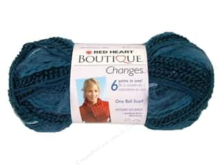 Clearance TLC Essentials Yarn: Red Heart Boutique Changes Yarn 3.5 oz. Aquamarine