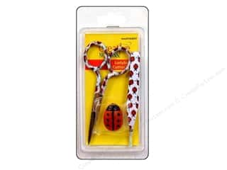 Thread Cutters / Yarn Cutters: Tacony Scissor Ladybug Set Tweezer/Embrdry/Cutter
