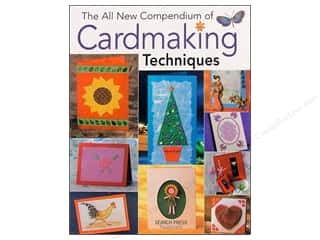 New Books & Patterns: Search Press All New Compendium Of Cardmaking Techniques Book