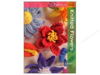 Flowers Books & Patterns: Search Press Twenty To Make Knitted Flowers Book
