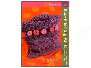 knitting books: Twenty To Make Eco Friendly Knits Book