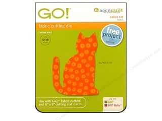Weekly Specials AccuQuilt: AccuQuilt Go! Die Calico Cat