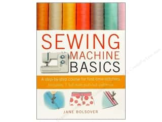 Fabric $0 - $10: Cico Sewing Machine Basics Book by Jane Bolsover