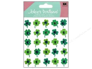 Scrapbooking Saint Patrick's Day: Jolee's Boutique Stickers Repeats Clover