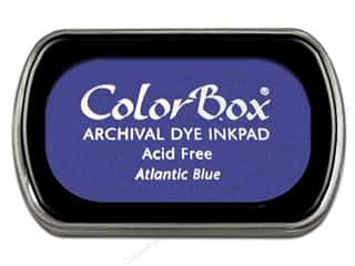 ColorBox $2 - $3: ColorBox Archival Dye Inkpad Full Size Atlantic Blue