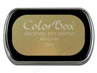 Clearance ColorBox Premium Dye Ink Pad: ColorBox Archival Dye Inkpad Full Size Putty