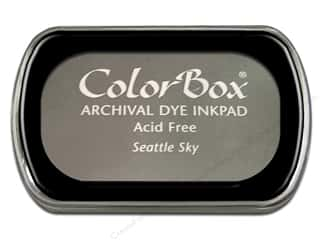ColorBox ColorBox Archival Dye Inkpad Full Size: ColorBox Archival Dye Inkpad Full Size Seattle Sky
