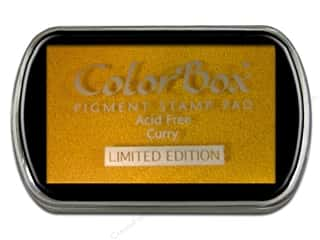 ColorBox Pigment Ink Pad Full Size Limited Edition Curry