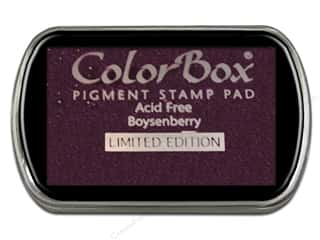 ColorBox Pigment Ink Pad Full Size Limited Edition Boysenberry