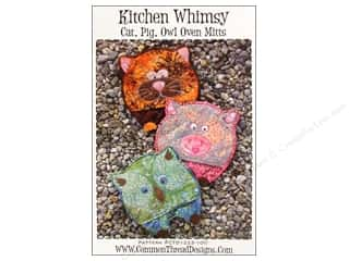 Kitchen Whimsy Oven Mitts Pattern