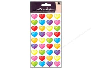 EK Sticko Stickers Mini Bubble Hearts