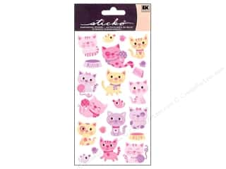 Pets Stickers: EK Sticko Stickers Kitty Cats