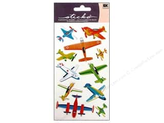 Transportation Stickers: EK Sticko Stickers Planes