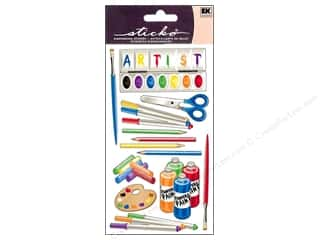 Careers & Professions Crafting Kits: EK Sticko Stickers Artist