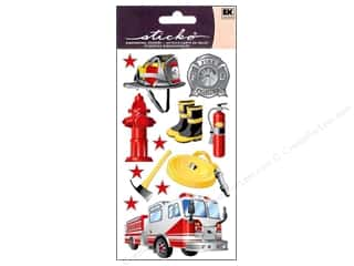Careers & Professions Crafting Kits: EK Sticko Stickers Fireman
