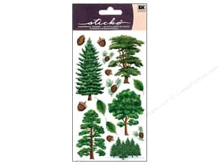 Outdoors $8 - $16: EK Sticko Stickers Majestic Trees