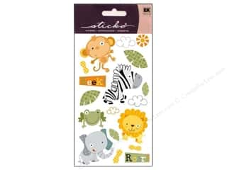 EK Sticko Stickers Jungle Buddies