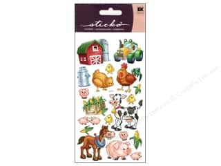 Earrings Gifts: EK Sticko Stickers Farm Friends