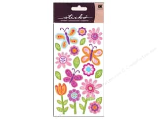 theme stickers  holidays: EK Sticko Stickers Whimsical Garden