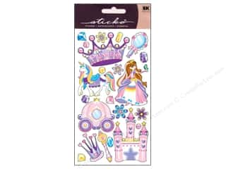 Hearts EK Sticko Stickers: EK Sticko Stickers Princess