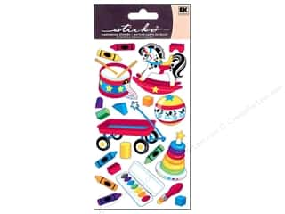 Toys Blue: EK Sticko Stickers Baby Icons